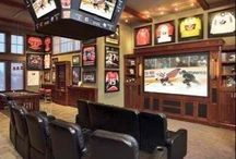 The Man Cave / Amazing man caves, game rooms, workshops, and outdoor kitchens
