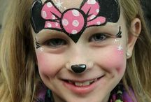 Kid's Face Designs / Inspiring Face Painting designs for kids found on Pinterest.