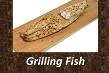 Grilling Fish / Most people think of fried when they consider fish, but grilling fish can be much healthier and it can taste better, too. Plank grilled fish has amazing taste and bring your cooking up to restaurant grade.