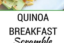 Healthy Breakfast / Breakfast is the most important meal of the day and all that jazz!  The focus here is on whole, real, unprocessed options (or ones that are easily modified) including lots of great vegan, Paleo, gluten-free and clean eating options.