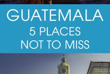 Central American Travel / The best pins about travel to Central America