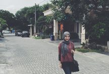 Hijab outfit of the day / My outfit when wearing hijab