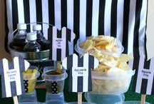 Chip and Dip Bar / Wow, who would have ever thought about Chips and Dip Bar, but don't you love it for corporate or social events? www.yourmainstream.com