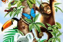 peinture animaux enfants