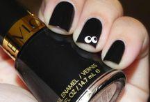 Nails / Nagellack och olika nageldesigns