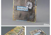 Handmade gifts / ručně vyrobené dárky, krabičky, přání....