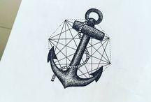Anchor tattoo