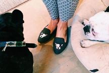 French Bulldogs / Annoushka's life long love for French Bulldogs.