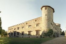 Tuscany - 13th Century Castle / Beautiful Castel in the Siena countryside Onsite accommodation for 60 people Private chapel  www.italianstyleweddings.co.uk