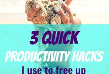 Productivity / Best productivity tips for side hustlers found here! Looking for ways to be more productive? How to organize your schedule, save time, and be successful? Start with these insider productivity hacks, tricks, and strategies. Learn simple keys to improve productivity and how to be more productive fast. www.sidehustlenation.com