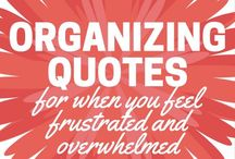 ! Organizing and Homemaking Quotes ! / Quotes about organizing, homemaking and decluttering. Inspirational quotes. Encouraging quotes. Funny quotes.