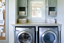 Mud room/laundry room / by Rebecca Bentzen