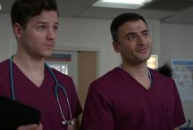 Dom & Isaac - Holby City / David Ames & Marc Elliot in Holby City