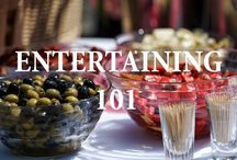 Entertaining 101 / Hosting a Party? Get creative and impress your guests with these helpful pins