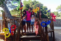 Kids in Ibiza at Babylon Beach / We are here on Sundays all winter with plenty of fun and frolicking for your little ones!