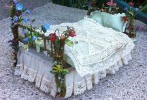 Fairy beds !!!!! / Wow lovely little beds!!!