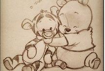 Disney tekeningen