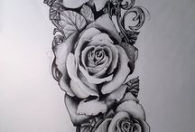 roses tattoo women