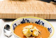 Artichoke / tomato. Soup