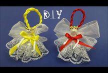 Christmas Ornaments & Ideas / Tutorials for creating Christmas Ornaments & Ideas