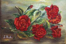 Tablouri-pictor,Liliana Radu / pictură in ulei pe pânză