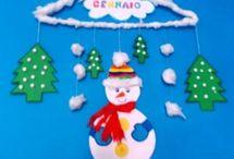 Winter Activities & Crafts / Actividades y Manualidades Invierno / Ideas creativas para peques sobre el invierno