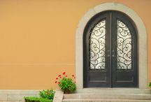 Iron Doors: Information / Why choose a Custom Iron Door? What are the benefits of having and Iron Door? This board has information, resources and more to answer your questions!