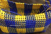 plastic wire basket