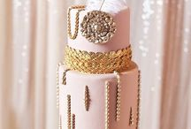 Luke and Lisa's wedding cake