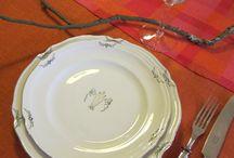 Dukning i lin och natur - Set the table in linen and nature / Inspiring set tables