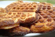 lavkarbo vafler/søt bakst/pannekaker