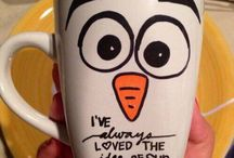 Frozen / Olaf cup