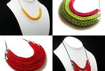 DIY fabric jewelleries