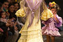 Moda flamenca niñas