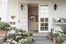 Front of house | Porches | Front doors