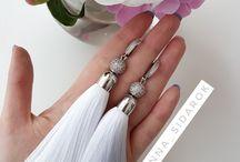 accessories_AS ♡ / серьги кисти, ручная работа