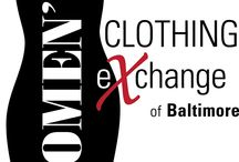 Women's Clothing Exchange of Baltimore / Women Consignment Tips, Ideas, Suggestions. Twice a year Women's Consignment Clothing/Accessories/Housewares Sale featuring fantastic deals on top name brands. / by Diane W.