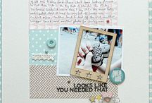 Scrapbooking - Classic Scrapbooking 3 / Even more clean and simple, graphic and linear layouts.  / by Heather Verran
