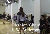 J. W. Anderson / J. W. Anderson collezione e catalogo primavera estate e autunno inverno abiti abbigliamento accessori scarpe borse sfilata donna.