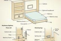 wallpaper bed