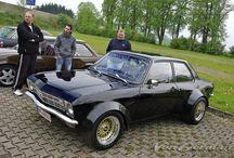 A Ascona from Opel
