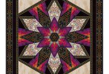 Jinny Beyer for RJR Fabrics / 'Border Basics 2016' & 'Carnival' by Jinny Beyer for RJR Fabrics & uncollected Jinny Beyer fabrics