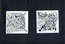 Zentangle creations
