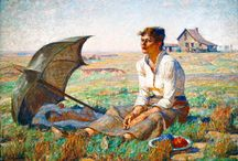 Famous SD Paintings / South Dakota has long inspired the creativity of painters & writers alike.