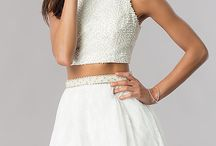 Homecoming 2017 Trend: Two-Piece / Discover these two-piece treasures for Homecoming 2017! Find your dream two-piece dress only on PromGirl.com!