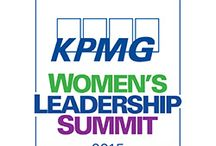 KPMG Women's Leadership Summit / KPMG Women's Leadership Summit, hosted on-site during the week of the KPMG Women's PGA Championship in June 2015, served as a galvanizing force to bring many of today's most accomplished women together to inspire the next generation of women leaders.