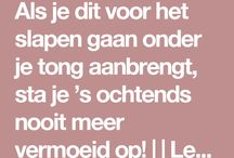 Slaap tips
