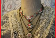 Charms of Rosegarden - Vintage Jewelry / Things I like or made