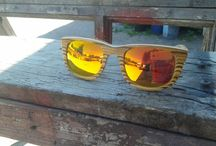 Wooden sunglasses & eyeglasses