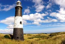 Lighthouses around the British Coast / For centuries they lit dark and dangerous seas to show seafarers the way.